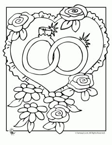 1000+ images about Wedding Coloring Book for the kids on