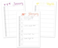 Time management template: weekly schedule. Going to give