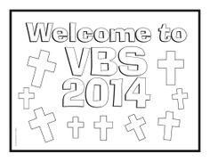 A printable certificate recognizing vacation Bible school