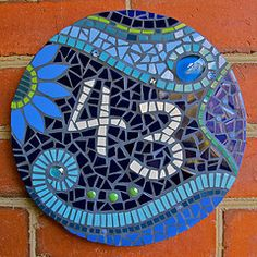 Another Beautiful Mosaic Stepping Stone On My Crafting Agenda