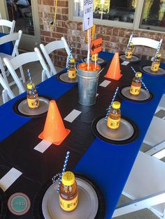 Image result for hot wheels party decorations ideas