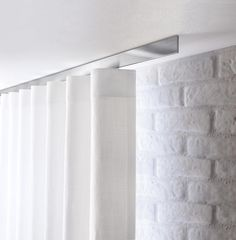 Ceiling Mounted Curtain Rail On Rails Track Window Treatments