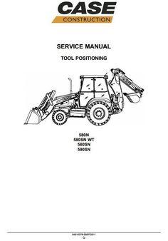 click on image to download JCB 3DX Backhoe Loader Service