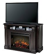 Dwyer Electric Fireplace Entertainment Center in Burnished ...