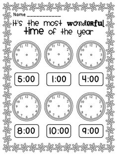 1000+ images about Special holiday worksheets on Pinterest