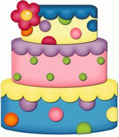 cute birthday cake clipart