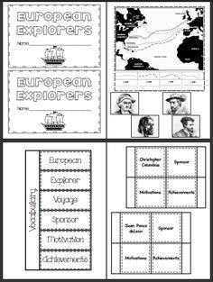Columbus Day Worksheet: reading comprehension (Reading