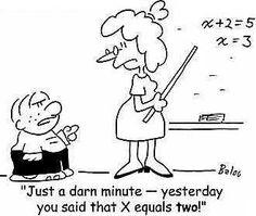 Math cartoons, Math and Math comics on Pinterest