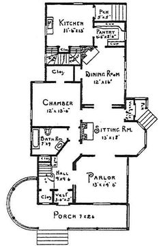 Victorian houses, Victorian house plans and Victorian on