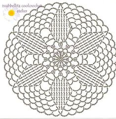 1000+ images about Crochet III ~ Motifs & Misc. Patterns