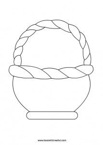 Cute Basket Template for your Moses story or when Jesus