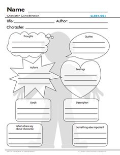 This free lesson plan called Character Consideration is