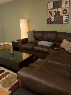 living room dark brown couch urban rooms 1000+ images about on pinterest | family ...