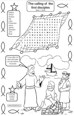 Growing Kids in Grace: Jesus calls the fishermen to be His