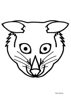 Possum Magic mask template found at http://www.scool
