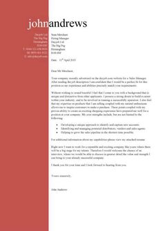 Cover Letter Template On Pinterest Resume Cover Letter