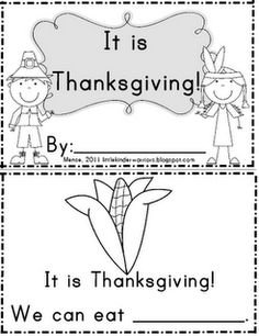 1000+ images about Kinder Thanksgiving Fun on Pinterest