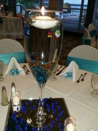 wine glass centerpieces   Large Champagne Glass ...
