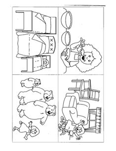 Goldilocks and the Three Bears sequencing sheets (SB7215