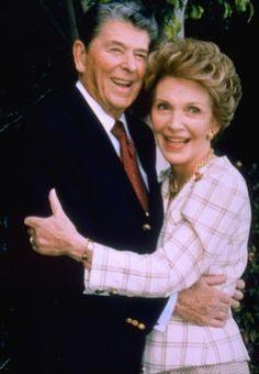 Ronald & Nancy Reagan* on Pinterest | Ronald Reagan, Presidents ...