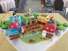 1000 Images About Mickey Choo Choo Express Birthday Party