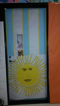 Hispanic Heritage Door Decor by Anita Minguela  Classroom Decor  Pinterest  Doors and Decor