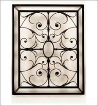 Wrought iron wall decor, Iron wall decor and Iron wall on ...