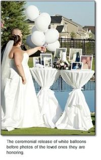 Balloon Release on Pinterest | Funeral Ideas, Memory Table ...