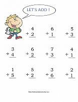 Loads of preschool number activities, coloring pages, cut