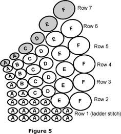 Twisted Tubular Herringbone Beadwork Instructions