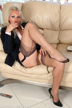 young girls in stockings and heels