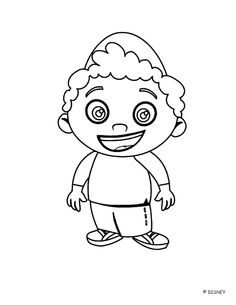 Little Einsteins Coloring Pages for cade's graduation