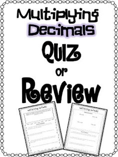 Multiple choice, Word problems and Decimal on Pinterest