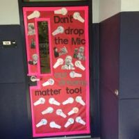 Black History Month Door Decoration :-) | School Door ...