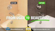 1000 images about Bathtub Refinishing on Pinterest  Bathtub refinishing Tubs and Bathtub repair