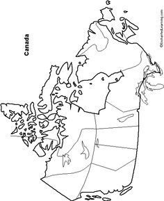 Outline Maps of some Continents and Countries you can