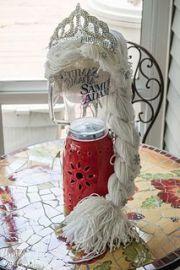 diy tutorial yarn wig hair - disney