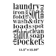 Laundry, You Got To Know When To Hold Em, Know When To
