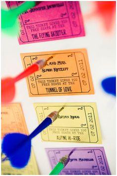Creative Escort Card