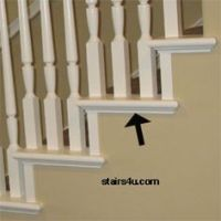 HOW TO install baseboard on stairs | Home ideas ...