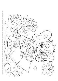 Printable Activities Graphomotor basic lines. http://www
