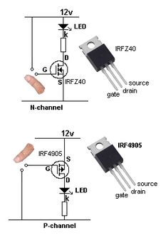 This is a circuit that explains on how to build a NPN or