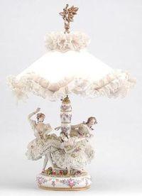 1000+ images about Dresden Porcelain Lamps on Pinterest ...