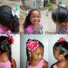 Mixed Hair Care Night Time Routine For Ringlet Curls Curly Kids