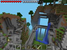 My First Minecraft Pe Modern House! My MCPE Creations