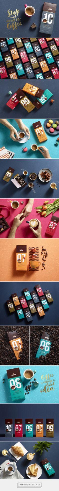 elite coffee capsules packaging designed by shake design maayan