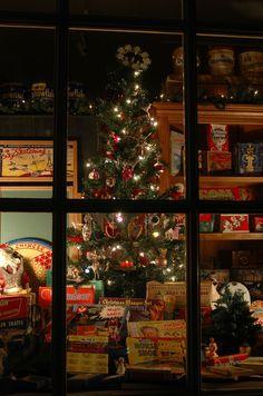 Christmas Window Displays On Pinterest Christmas Window