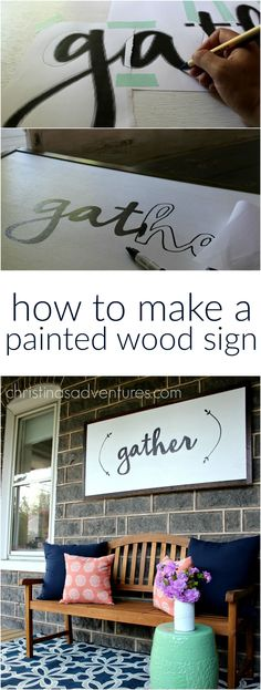 How To Make Wooden Signs Using Various Techniques Pallet Wood
