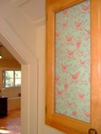 Hutch Glass Ideas on Pinterest | Fabric Covered, Glass ...