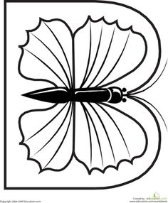 Flower Pot Coloring Page: This simple template can be used